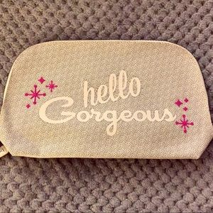 Benefit Cosmetics Hello Gorgeous Dome Zippered Bag